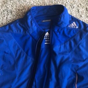 Lightweight Bright Blue Adidas Jacket